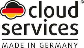 Logo Cloud Made in Germany – Uptime IT